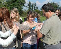 La Ferme des Blancs - Colombier-en-Brionnais - Visite de classe